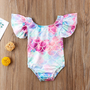Baby Mermaid One Piece Swimsuit