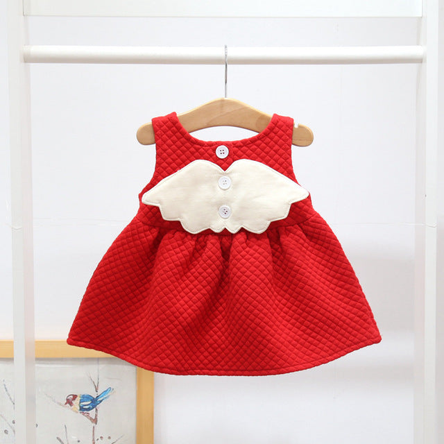 Beautiful Angel Wings Christmas Dress