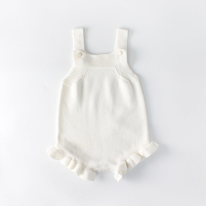 70dbdaf82d3 Plain White Knitted Romper – Tiggy s Boutique