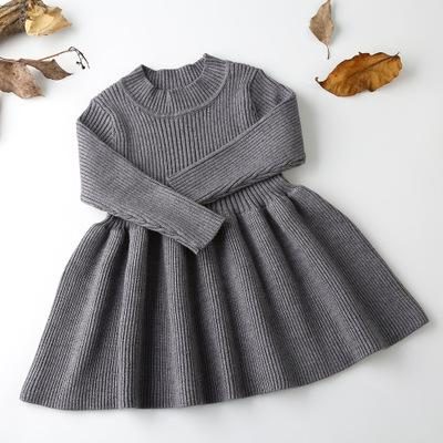 Cosy Knit Long Sleeved Dress