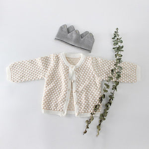 Beautiful Bobble Knit Cardigan and Romper