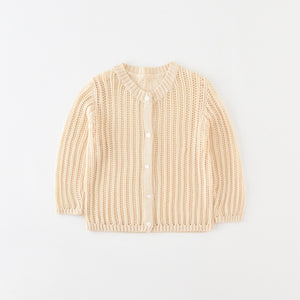 Basics Lattice Summer Cardigan