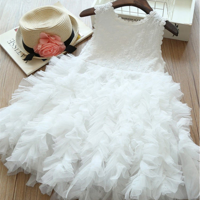 Frill Skirt Tutu Princess Dress