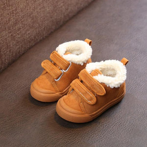 Soft-Touch Fleece Baby Boots