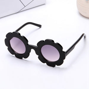 Cute Kids Flower Sunglasses