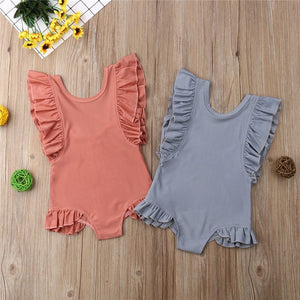 Summer Ruffles Fashion Swimsuit