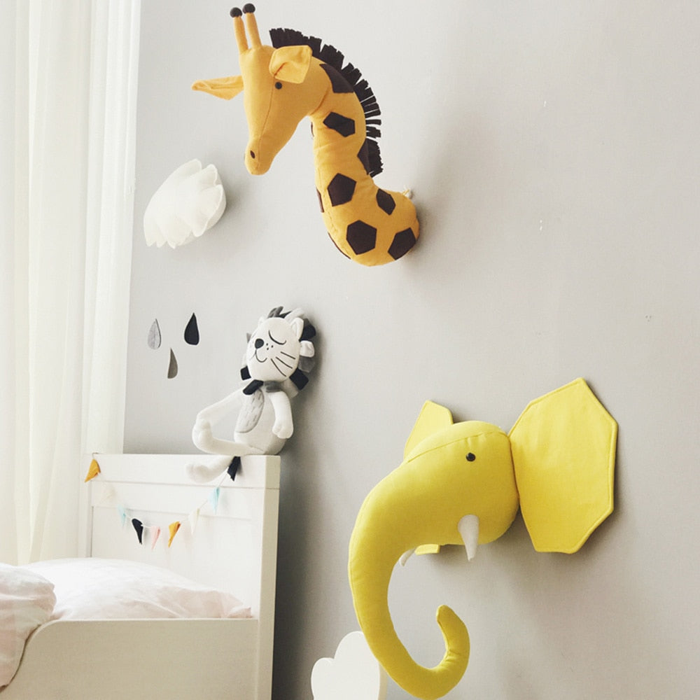 Safari Animal Wall Mount