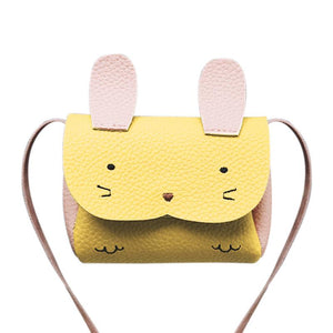 Cute Kids Bunny & Kitten Purse