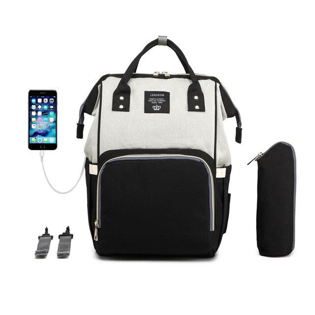 New Maternity Diaper Bag with USB