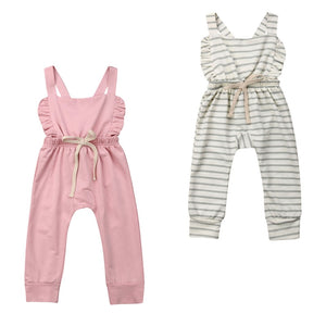 Sweetheart Button Back Jumpsuit