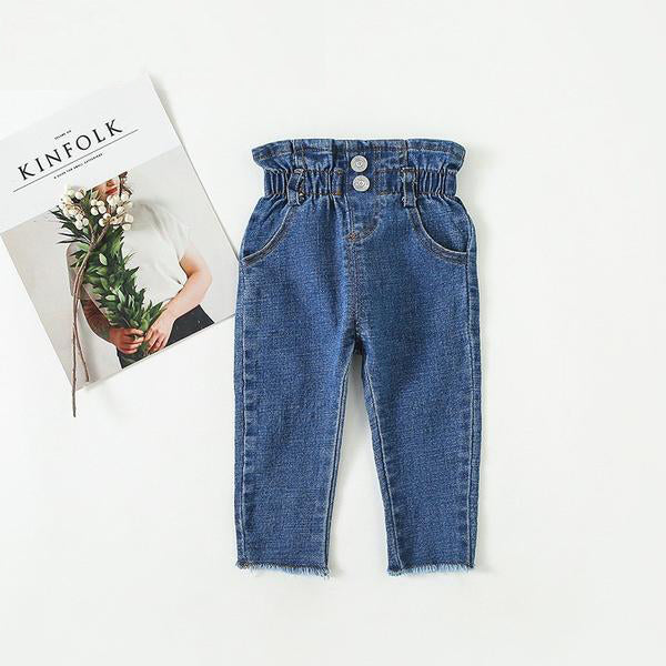 High Waisted Baby Jeans