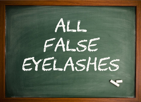 All False Eyelashes