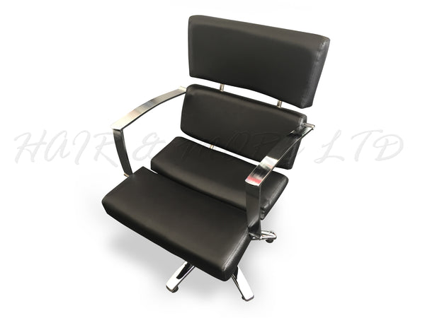 'Sophia' Salon Chair - Black