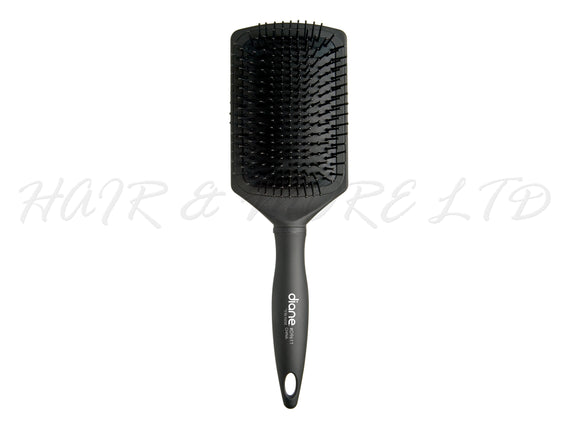 Diane Bamboo Charcoal 13 Row Large Paddle Brush