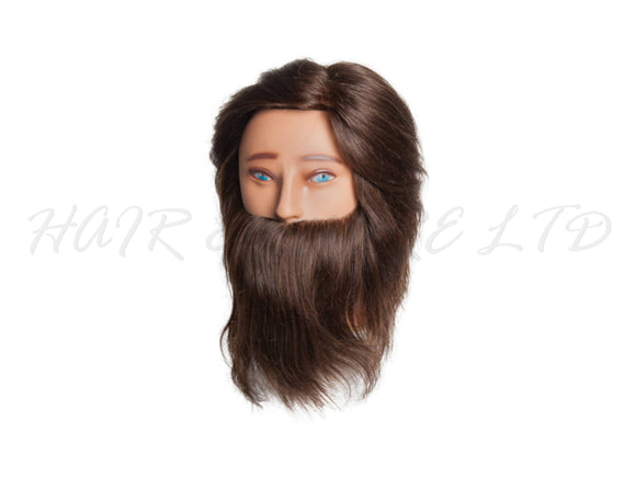 Diane 'Aiden' Bearded Manikin Head