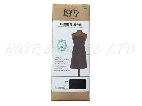 1907 by Fromm Chemical Apron - Black