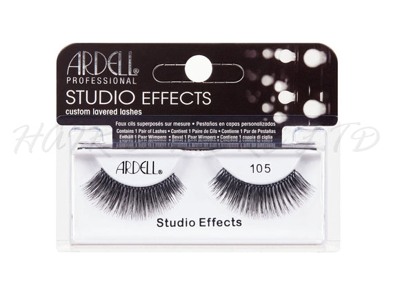 Ardell Professional Studio Effects Lashes, 105 Black
