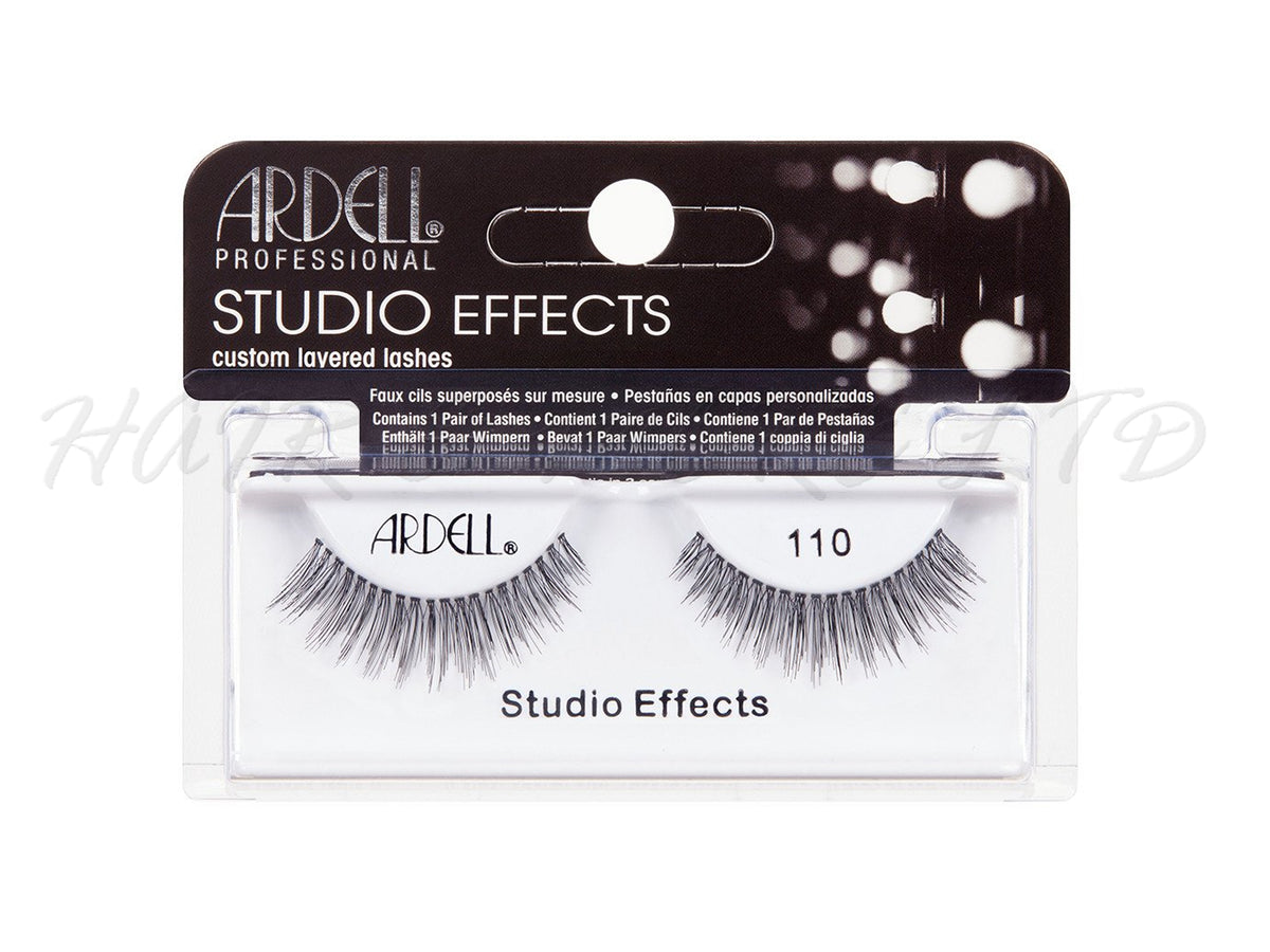 b273e19deef Ardell Professional Studio Effects Lashes, 110 Black – Hair and More Ltd