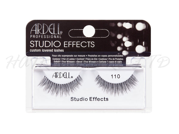Ardell Professional Studio Effects Lashes, 110 Black