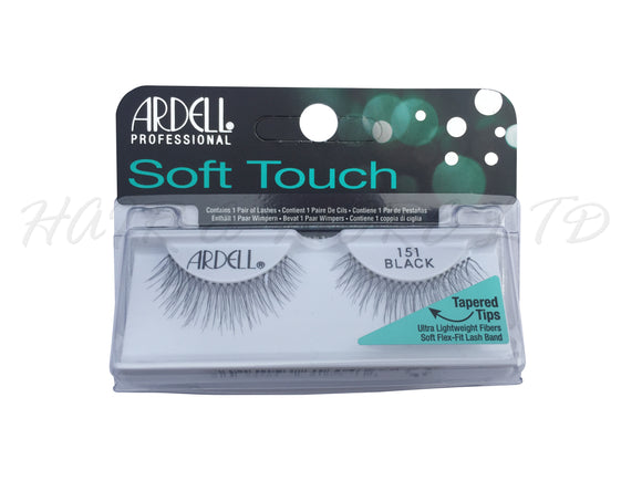 Ardell Professional Soft Touch Lashes, 151 Black