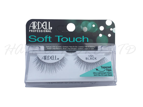 74b39009e35 Ardell Professional Soft Touch Lashes, 151 Black – Hair and More Ltd