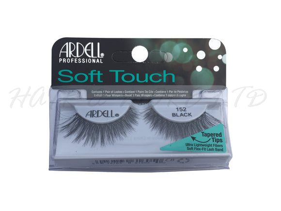 Ardell Professional Soft Touch Lashes, 152 Black
