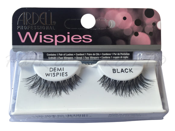 Ardell Professional Wispies Lashes, Demi-Wispies Black