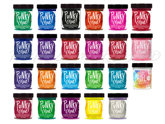 Punky Colour Semi Permanent Hair Colour 100ml