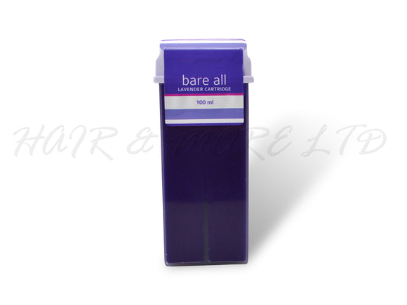 Bare All Lavender Cartridge Strip Wax 100ml