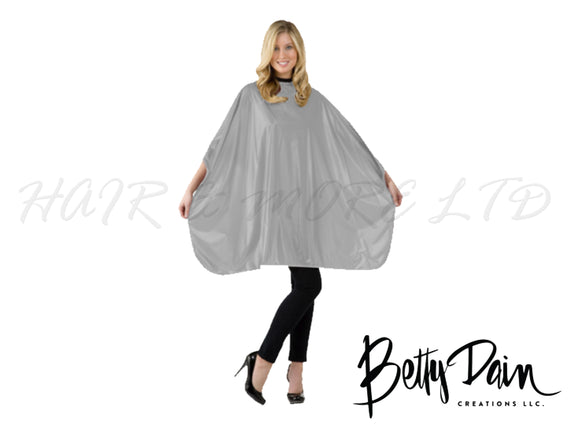 Betty Dain Silver Jumbo Shampoo/Cutting Cape