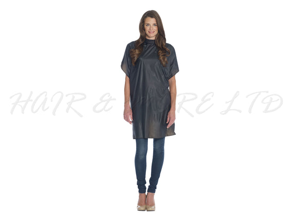 Diane Vinyl Shampoo/Cutting Cape - Black