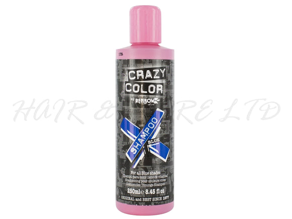 Crazy Colour Vibrant Shampoo - Blue 250ml