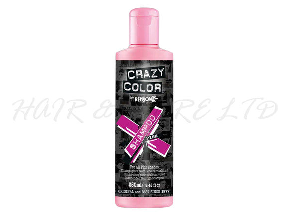 Crazy Colour Vibrant Shampoo - Pink 250ml