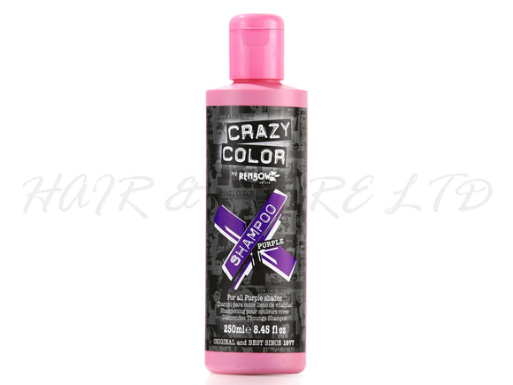 Crazy Colour Vibrant Shampoo - Purple 250ml