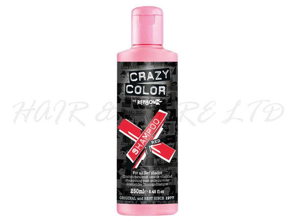 Crazy Colour Vibrant Shampoo - Red 250ml
