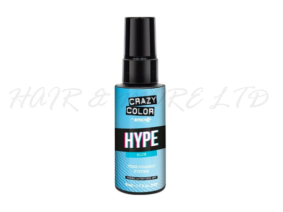 Crazy Color Hype Pure Pigments - Blue 50ml (High Concentration Colour)
