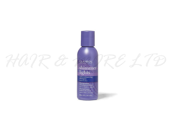 Clairol Professional Shimmer Lights Shampoo 59ml - Travel Size