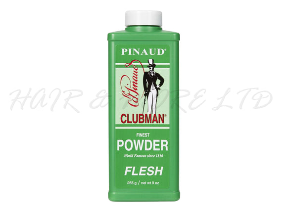 Pinaud Clubman Mens Talc Powder - Flesh Tone, 255g