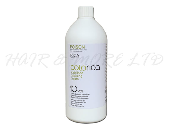 Colorica Stabilised Oxidising Cream Developer 10 vol (3%) 990ml
