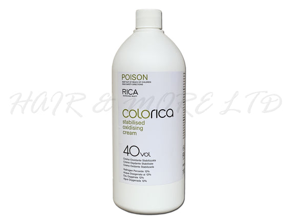 Colorica Stabilised Oxidising Cream Developer 40 vol (12%) 990ml