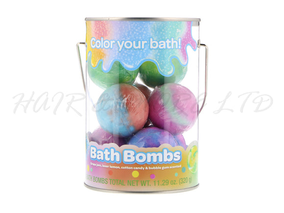 Crayola 'Color Your Bath' Bath Bombs Bucket, 8 Count