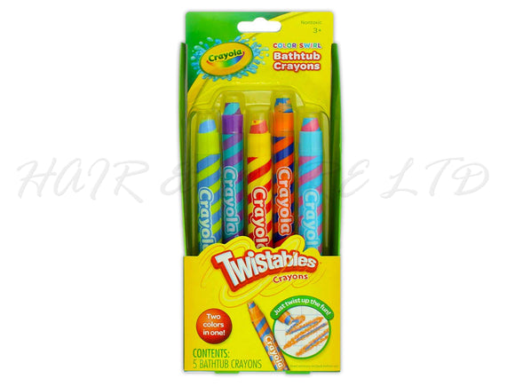 Crayola Bathtub Crayons 5 Pack Twistable