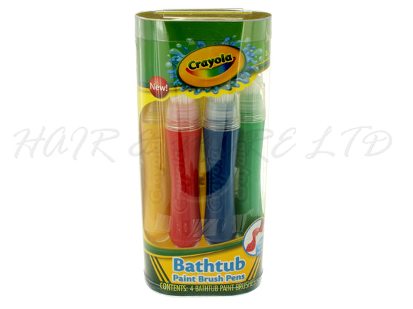 Crayola Bathtub Paint Brush Pens, 4 Pack