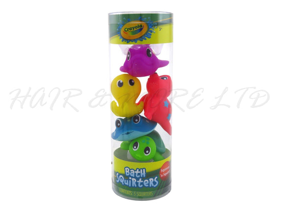 Crayola Bath Squirters, 5 Pack