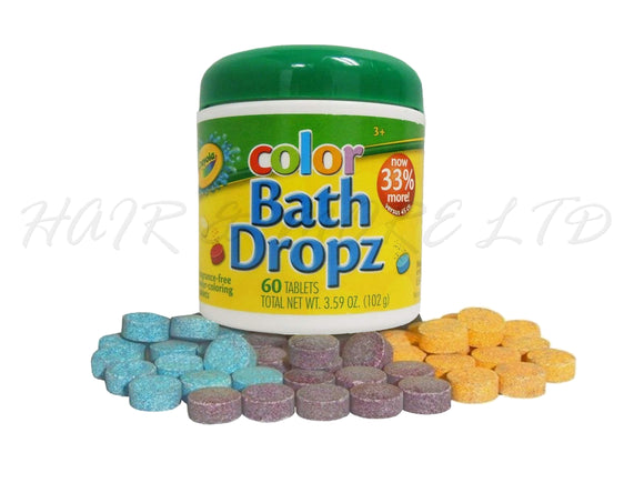 Crayola Color Bath Dropz, 60 Tablets