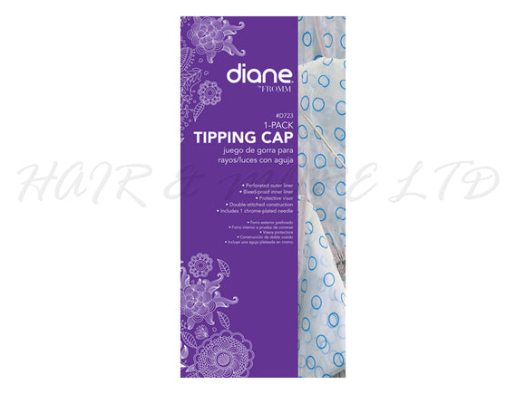 Diane Highlighting/Tipping Cap with Needle