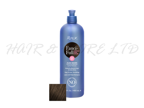 Roux Fancy-Full Hair Colour Rinse - Plush Brown 450ml