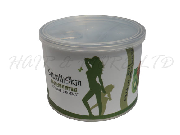 Smooth Skin Hypoallergenic Soft Wax 400g - Kiwi