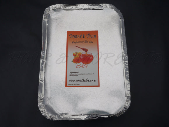 Smooth Skin Hot Film Wax 500g - Honey