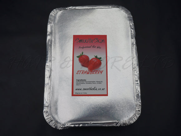 Smooth Skin Hot Film Wax 500g - Strawberry